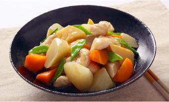 春野菜のシンプルうま煮