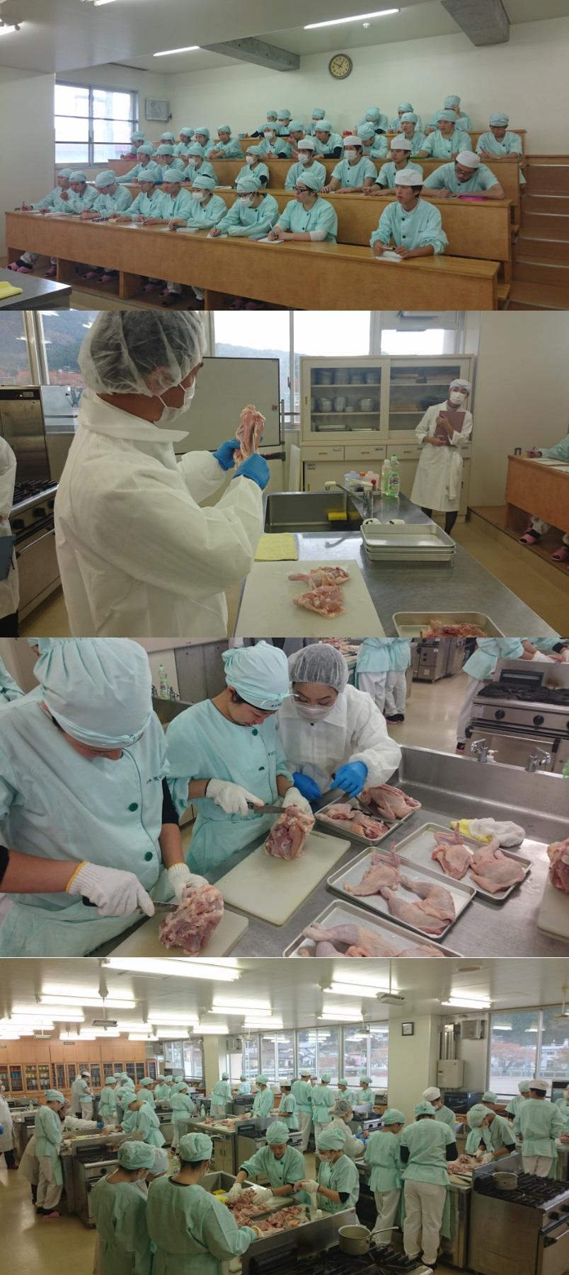 『命を頂くということ』…今年も大船渡東高校で丸鶏の解体実習を実施しました!