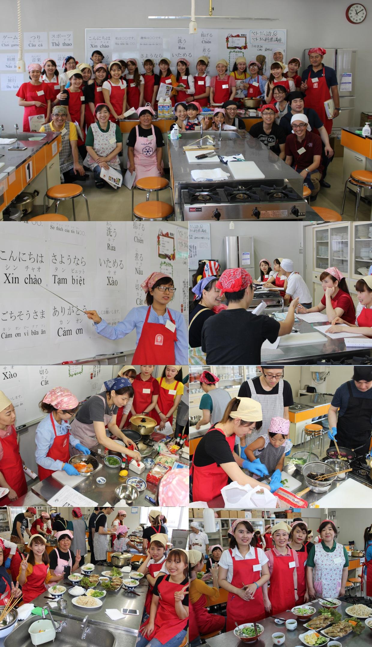 ベトナム語&ベトナム料理教室が開催されました!