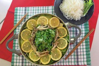 レモン&パクチー鍋