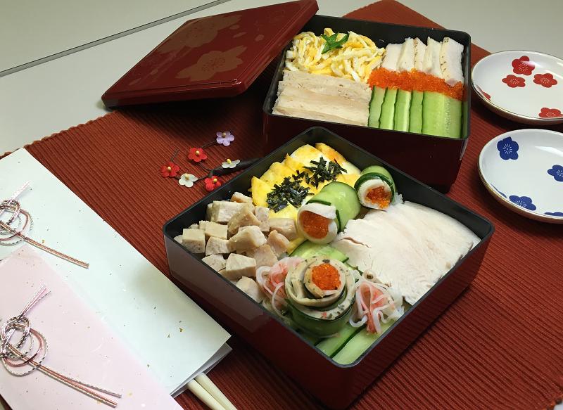 おもてなし モザイク寿司