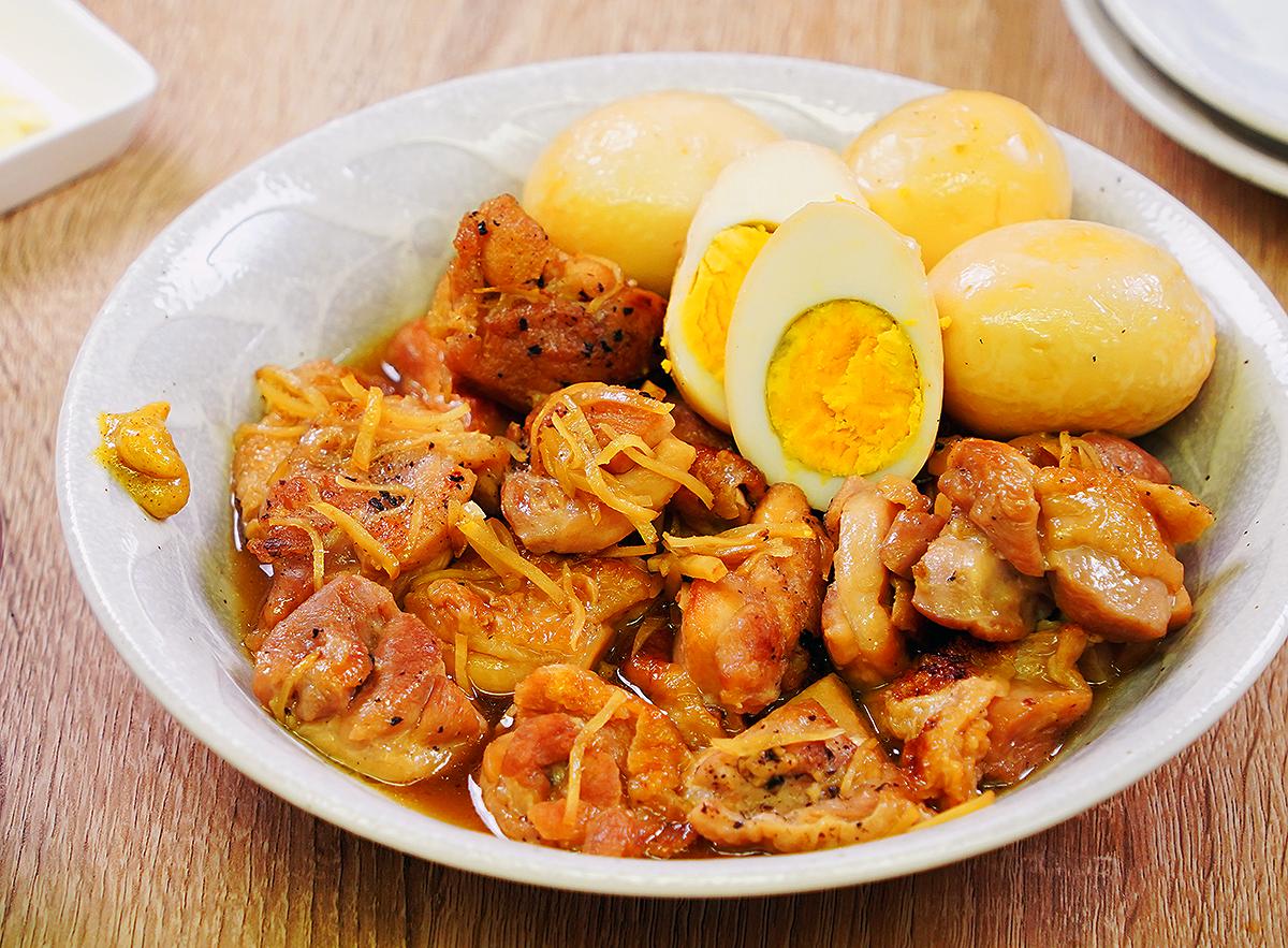 ⦅動画⦆ガラスープで作る赤鶏もも肉の角煮
